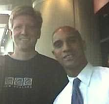 With DC Mayor Adrian Fenty