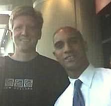 With DC Mayor Adrian Fenty