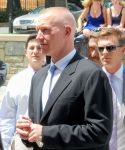 Former teammate Chris Mullin attended Bol's funeral.